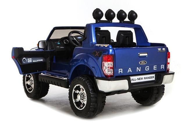 pick up truck voor 1 kind 12 v rc. Black Bedroom Furniture Sets. Home Design Ideas